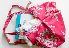 Sew the perfect shopping tote!