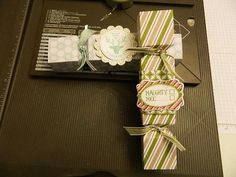 2013  VIDEO Envelope Punch Board Candy Wrappers  CANDY CRACKERS