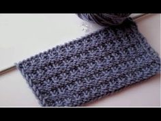 This Pin was discovered by Kristi Krmx. Discover (and save!) your own Pins on Pi… - Stricken Anleitungen Knitting Stiches, Knitting Videos, Knitting Charts, Easy Knitting, Crochet Stitches, Stitch Patterns, Knitting Patterns, Crochet Patterns, Knitting Designs
