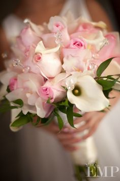 Pink Wedding Bouquet // Studio EMP
