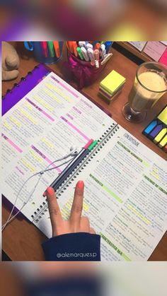 School Organization Notes, Study Organization, Nursing Organization, Life Hacks For School, School Study Tips, School Tips, College Notes, School Notes, College School