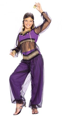 Rubies Harem Princess Belly Dancer Costume Girls Costume | Clothing