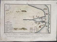 Sketch & description of the settlement at Sydney Cove Port Jackson in the County of Cumberland