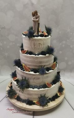 Hochzeitstorte semi naked Cakes For Men, Naked, Desserts, Food, Wedding Cake, Pies, Tailgate Desserts, Deserts, Meals