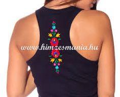 hand painted hungarian folk art t shirt with by lilifolkshop n pm v szet pinterest. Black Bedroom Furniture Sets. Home Design Ideas