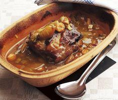 Fläskkarré i lergryta Keto Recipes, Cooking Recipes, I Foods, Crockpot, Clean Eating, Food And Drink, Pork, Beef, Dessert