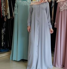 Hijab Style Dress, Hijab Chic, Dress Outfits, Islamic Fashion, Muslim Fashion, Modest Fashion, Burqa Designs, Abaya Designs, Niqab Fashion