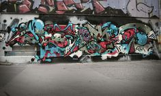 SOBEKCIS – Wien Donaukanal « I Love Graffiti DE
