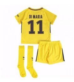 PSG Angel Di Maria 11 Bortaställ Barn 17-18 Kortärmad Psg, Paris Saint, Neymar Jr, Saint Germain, Saints