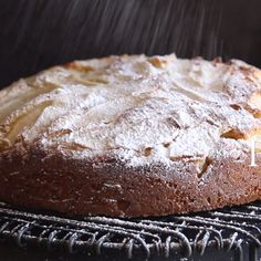 Easy Italian Pear Cake, a delicious moist Italian cake made with fresh pears and mascarpone. A perfect breakfast, snack or anytime cake recipe. Pear Recipes Videos, Fresh Pear Recipes, Pear Dessert Recipes, Easy Cake Recipes, Gourmet Recipes, Delicious Desserts, Italian Pear Recipes, Recipes For Pears, Authentic Italian Desserts