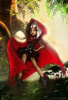 Cerise Hood- Ever After High