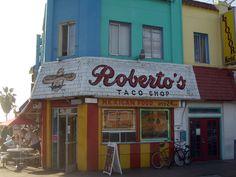 Roberto's - Mission Beach, San Diego, CA ❤❤ the best Carne asada burrito's anywhere