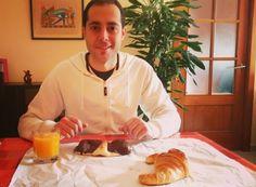 ¡Hoy #desayuno de campeones!  Éstas delicias acompañadas de un zumito recién exprimido... Mmm Esto es empezar bien el día!!!