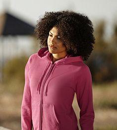 FoL Lady-fit Lightweight Hooded Sweat Jacket