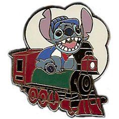 Your WDW Store - Disney Mystery Pin Set - Imagination Gala - Character Train - Stitch