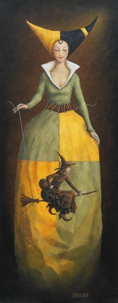 THE LADY AND THE WITCH BY CATHERINE CHAULOUX