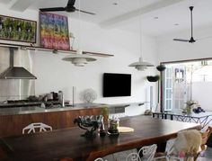 A 60-Year Outdated Terrace Home Gets A Renovation - http://www.homeandbeautiful.com/design-ideas/a-60-year-outdated-terrace-home-gets-a-renovation.html