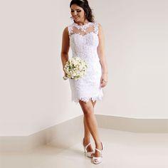Vestidos de Novia Elegantes con Estilo y Distincion: Vestidos de Novia Cortos 2016