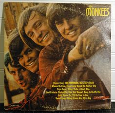"""Another vintage LP in my #etsy shop: The Monkees - """"The Monkees"""" 1966 Original Vinyl LP - Com-101 #christmas #vinyl #monkees #themonkees #selftitled http://etsy.me/2C8BmEW"""