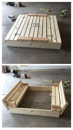 Ideas Diy Outdoor Kids Playground Sandbox For 2019