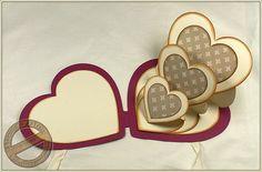 Birgits Blog - kreatives und mehr...: Triple-Easel-Karte Herz