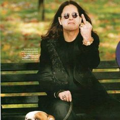 ozzy osborne Black Sabbath, Hard Rock, Rock Bands, Rock Music, My Music, Prince Of Darkness, Lol, Ozzy Osbourne Quotes, Metalhead