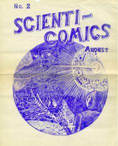 Scienti-Comics #2, August 1940 Philip Bronson
