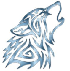 Tribal Wolf Howl Steel by Hareguizer on DeviantArt - mitologia - Hhhhh - Tribal Animal Tattoos, Tribal Animals, Wolf Tattoo Tribal, Celtic Wolf Tattoo, Wolf Tattoo Design, Tribal Lobo, Celtic Tribal, Wolf Sketch, Wolf Artwork