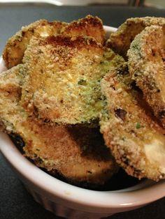 Little Bit Savory:  Zucchini Chips