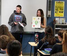 Students interpret Shakespeare's Hamlet in creative ways