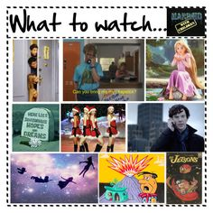 """""""What to watch"""" by bibby1590 ❤ liked on Polyvore featuring art and modern"""