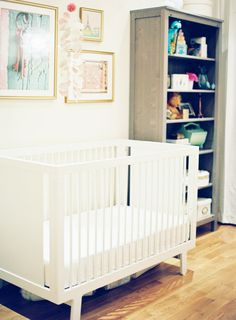 A beautiful and serene nursery for a little girl