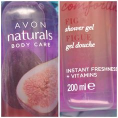 Avon Naturals - Voňavý sprchový gél s figami - KAMzaKRÁSOU.sk #kamzakrasou #cosmetics #avon #showergel #shower