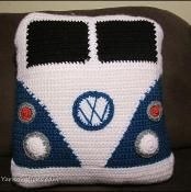 free pattern-- VW Van Pillow - via @Craftsy