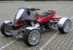 fastest quad   luxury four wheeler Customized GG Quad Brings Opulence to Four Wheeler