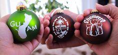 Hafa Adai Christmas Ornaments.