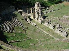 Volterran anfiteatro romanao