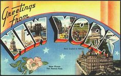 38 Awesome new york postcards images