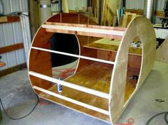 MiniTears custom build teardrop trailer - kit version: In 2012 MiniTears Teardrop Trailers started offering kits for their exceptional trailers. The kits are broke down into packages so that the builder can