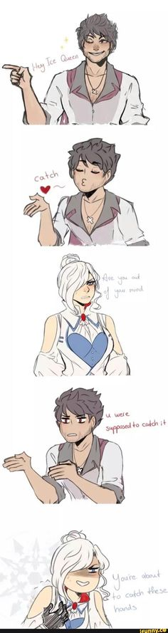 snowbird, rwby---I don't ship, but I thought this was cute