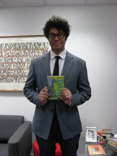 richard ayoade books