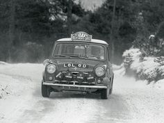 Mini at the Monte Carlo Rally - 1967 Aaltonen and Liddon Front - 1024x768 - Wallpaper