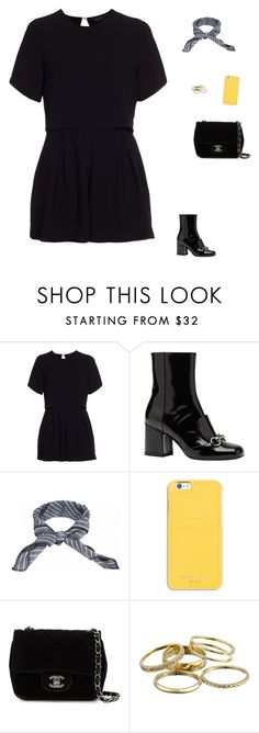 """Untitled #1621"" by tayloremily218 on Polyvore featuring New Look, Gucci, donni charm, MICHAEL Michael Kors, Chanel and Kendra Scott"