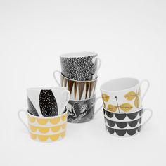 Fine Little Day - 6-PACK CUPS (niet te betalen! maar zo mooi, ook nog schoteltjes...)
