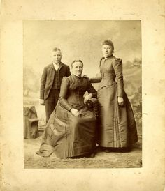 HISTORIC PHOTO - Photograph of Peter Stuhr's family, taken in the early 1890s.  Peter Stuhr (1828-1889), a native of Holstein, Germany, was one of the original 1857 settlers of Hall County. Leo Stuhr was a successful farmer, businessman, and a history enthusiast who left the bulk of this estate to the development of Stuhr Museum, which was named in his honor.