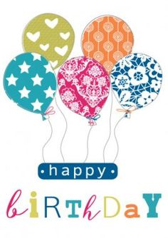 """""""happy biRthDaY"""" Balloons 