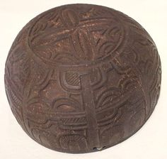 Cup, Marquesas Islands, coconut shell, Honolulu Museum of Art, 208.1.