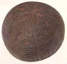 Cup, Marquesas Islands, coconut shell, Honolulu Museum of Art, 208.1.