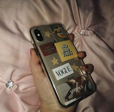 DIY aesthetic phone case All pictures in phone case found from Pinterest 💓 Aesthetic Phone Case, Iphone Phone Cases, All Pictures, Aesthetic Pictures, Phones, Diy, Aesthetic Images, Bricolage, Telephone