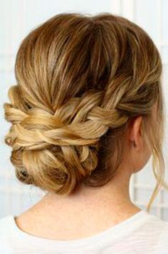 Updo Hairstyles For Long Hair Awesome 39 Elegant Updo Hairstyles For Beautiful Brides  Pinterest  Updo